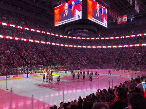 *(2x) TICKETS MONTREAL CANADIENS HOME GAMES - RED  116 HABS SH2x