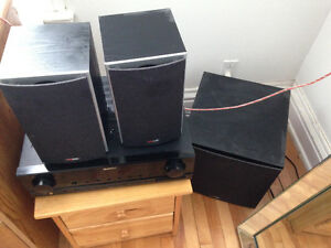 SOUND SYSTEM with SUBWOOFER