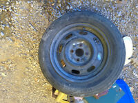 4 Bolt Spare Tire and rim 185/65/14