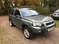 Land Rover Freelander 2.0Td4 Freestyle 3 DOOR 2006