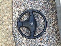 Toyota celica steering wheel with air bag