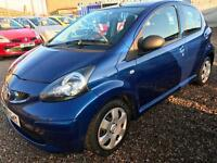 2007 TOYOTA AYGO 1.0 VVT i Blue 5dr 30 ROAD TAX CHEAP INSURANCE IDEAL 1st CAR