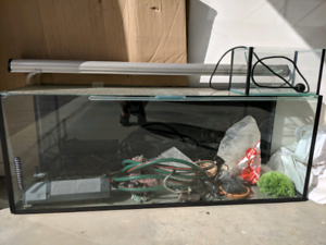 Fish tank and many accessories
