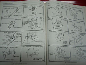 1973 Fisher Body service manual Peterborough Peterborough Area image 7