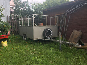 Utility trailer with long tounge for sale