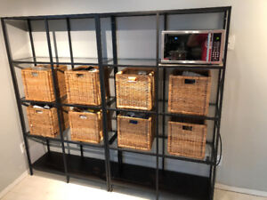 2 Ikea Organized Shelving Units in Excellent Condition!!!