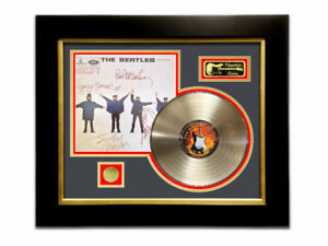 LIMITED EDITION GOLD LP 'THE BEATLES - HELP - SIGNATURE SERIES'