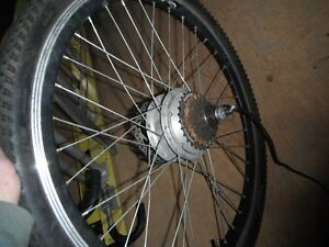 MOTORIZED BIKE WHEEL