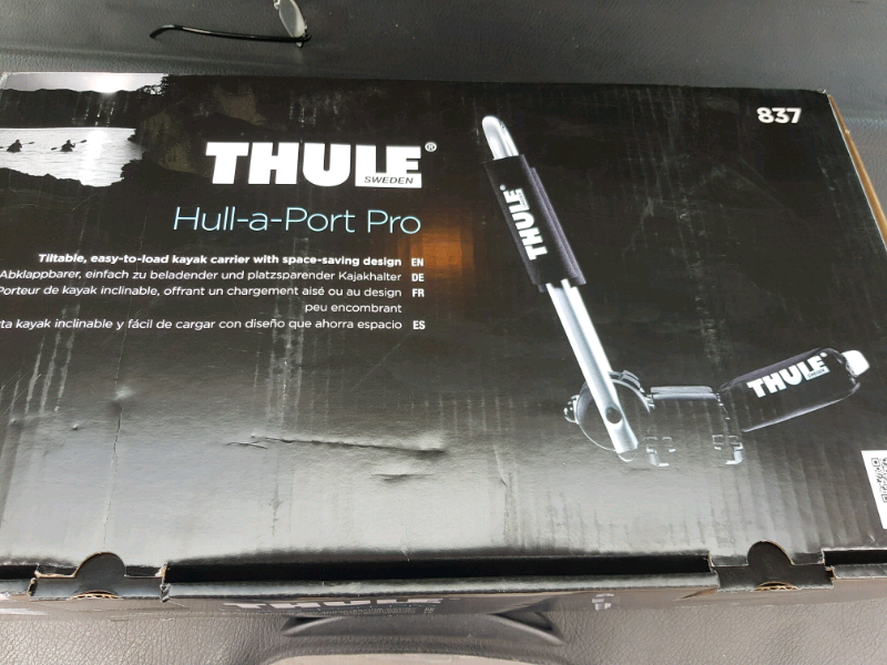 Thule 837 hull a port pro kayak carrier brand new | in ...