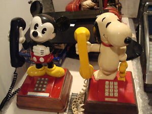 MICKEY MOUSE COLLECTION & PHONES  REDUCED