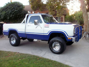 "WANTED: ""81-""93 Dodge 4x4 project truck."