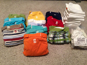 G diapers - set of small diapers