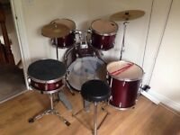 Drum Kit with Stool