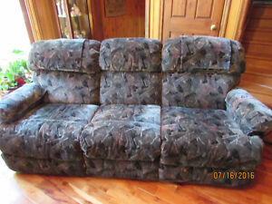 Like new LazyBoy recliner couch & LazyBoy recliner rocking chair
