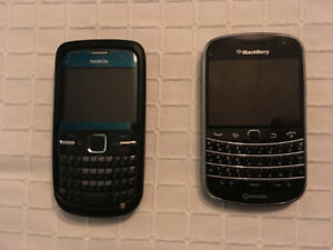 Blackberry Bold and Nokia C3-00 for sale