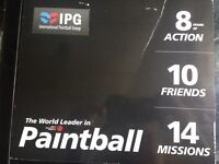 Paint balling tickets 10 (IPG) worth over £300