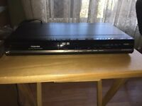 Toshibaq DVD player and Recorder