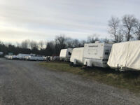 Secure Outdoor Storage- Boats, Trailers, Trucks, RV's,Containers