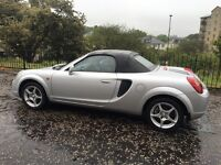 2002 LOW MILEAGE TOYOTA MR2 1.8 vvti CONVERTIBLE FULLY LOADED UNMARKED PX swap