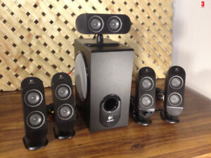 Logitech X-530 5.1 Home Theater Media System