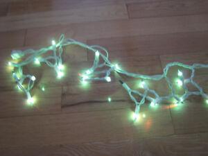 Outdoor Lighting 9 feet strands x 3