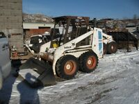 BOBCAT 743 NEW BUCKET AND TIRES $9400 OBO