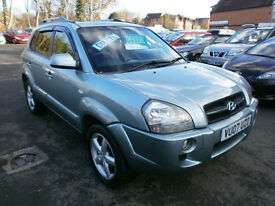 Hyundai Tucson 2.0CRTD ( 4WD ) Limited 81K FSH DRIVES WELL,
