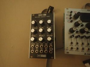Eurorack modules. Black panel for Synth Tech E352