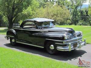 1948 chrysler 3 window coupe . all steel