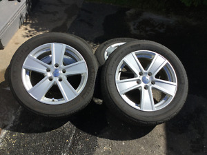 Michelin Premier 205/55R16 with RTX rims for 2011 VW Golf