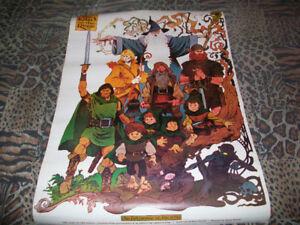 Poster lot Lord of the Rings Dire Straits The Fixx U2 Aldo Nova