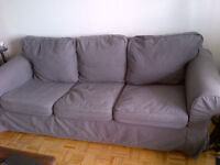 Ikea Ektrop Sofa 3 Places