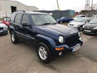 Jeep Cherokee 2.5 CRD Limited Edition* Heated Leather, Cruise Control, 12 Month Mot, Warranty