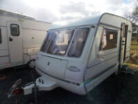 Compass Vantage 400/2 1995 2 Berth Lightweight Caravan In Pristine Condition