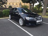 2006 (06) Audi A3 2.0 TDI SLine / 5 Door / 94 FSH / 12 months MOT / Immaculate