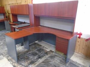 Office desk with Hutch and extesion - 4 units