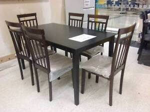 Stock clearance COCO U 7 pce Dining Suite Wangara Wanneroo Area Preview