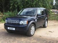 Land Rover Discovery 4 3.0SDV6 (255bhp) Commercial auto 2013 Baltic Blue 93k
