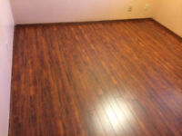 Professional installation of ceramic tile floor laminate at $0.8