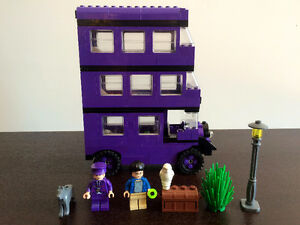 LEGO Harry Potter Sorting Hat (4701) + Knight Bus (4755)