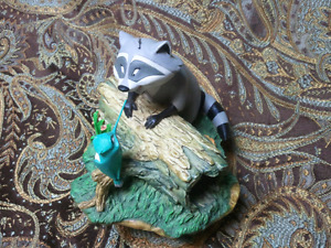 Meeko and Flit figurine from Pocahontas 1995