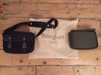 Billingham Hadley in Black FiberNyte (incl. extra insert and lots of dividers)