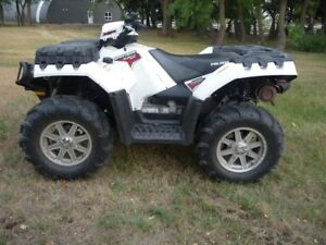JUST REDUCED-2011 Polaris Sportsman 850 LE - Power Steering