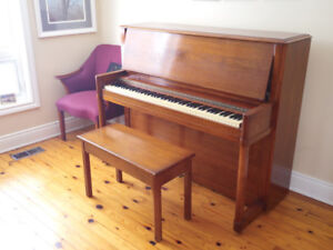 Piano, Upright Piano (by Willis of Montreal)