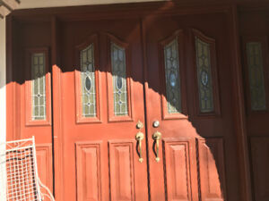 HOUSE DOORS: Two steel doors for sale !!!