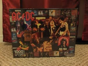 ACDC Jigsaw Puzzle, New In Box