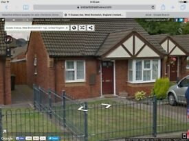 Council House Exchange From A Bugalow In West Bromwich to Poole and surroundng area