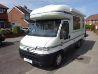2001 Auto Sleeper Talisman 4 Berth End Kitchen Motorhome For Sale Ref 15215