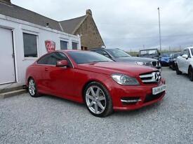 2012 (62) Mercedes-Benz C220 BlueEFFICIENCY AMG Sport 2.1 CDI 7G-Tronic Plus
