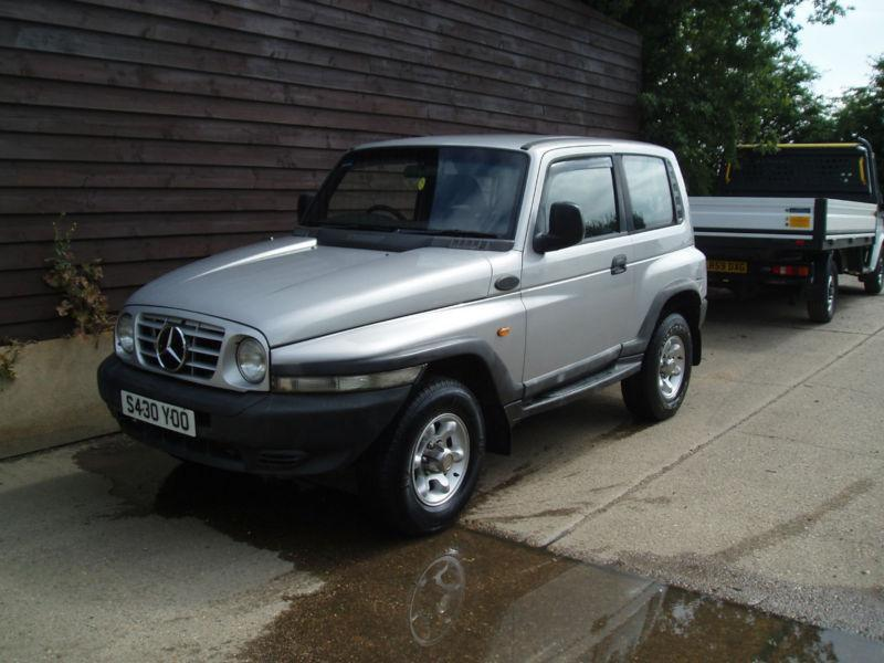 4x4 jeep mercedes engined 2 9 t diesel ssangyong korando gls 1998 s reg in clacton on sea. Black Bedroom Furniture Sets. Home Design Ideas